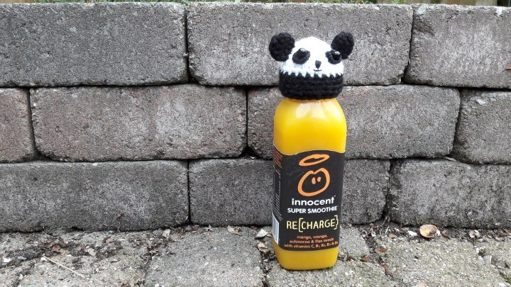 gratis haakpatroon panda innocent big knit muts