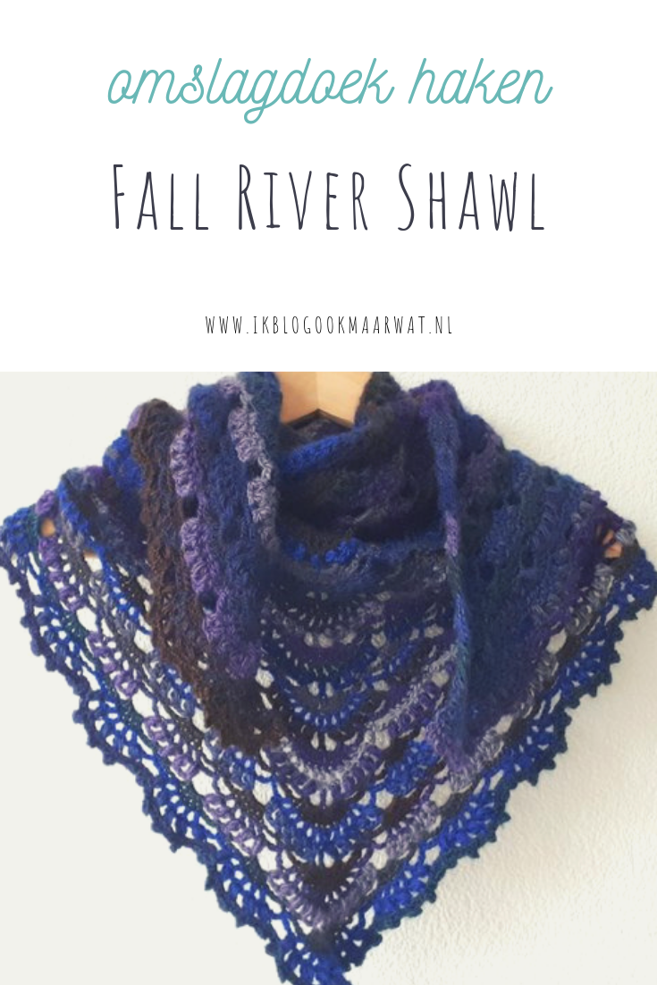 Omslagdoek haken Fall River Shawl